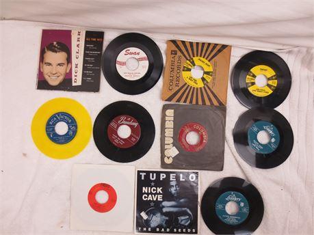 Lot of 45s 7 Inch Vinyl Records Lot G