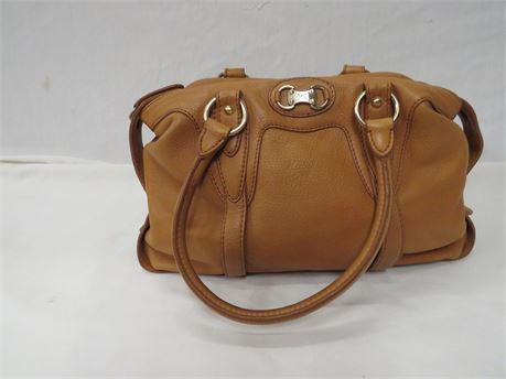 Michael Kors Light Brown Leather Purse