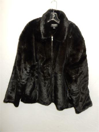 Pacsun Faux Fur Coat Men Size XL