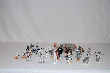 Hasbro Star Wars Unleashed Figures