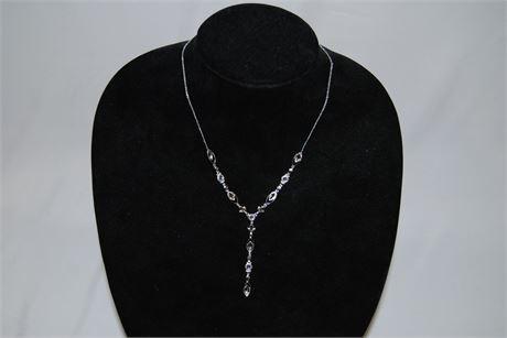 Silver Tone Jewelry Set (500)