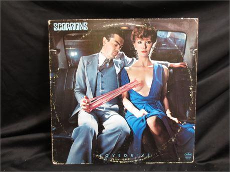 The Scorpions' Lovedrive Record