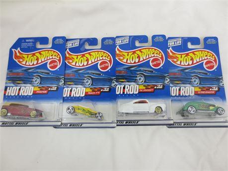 Hot Rod Magazine 4 Car Hot Wheel Lot
