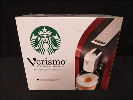 Starbucks Verismo K-fee 580 Burgundy Coffee Maker