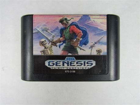 """Sega Genesis Video Game """"Shining Force"""" #VG136 (650)"""