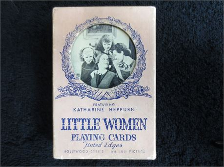 Vintage Little Women Playing Cards