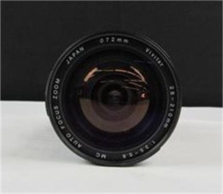 Vivitar Auto Zoom Lens 55mm 70-150mm 1:3.8   (650)