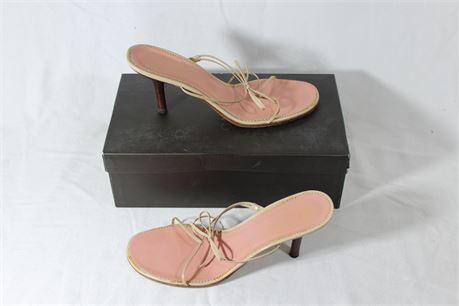 Gucci Women's Sandola Pelle Heels, Size 8B