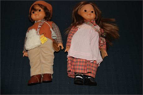 Sala and Berg Limited Edition Dolls