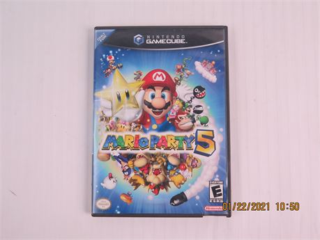 Mario Party 6 (Nintendo GameCube, 2003) Complete; Good Condition (670)