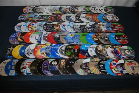 Huge Used CD Lot  Loose No Cases (500)