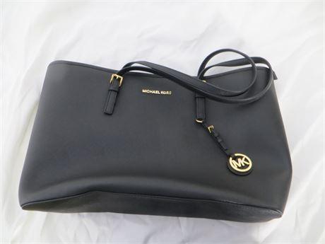 Michael Kors Large Black Shoulder Bag