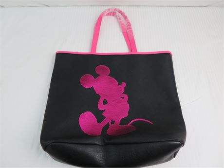 Disney Parks Mickey Mouse Loungefly Tote Bag- New (670)